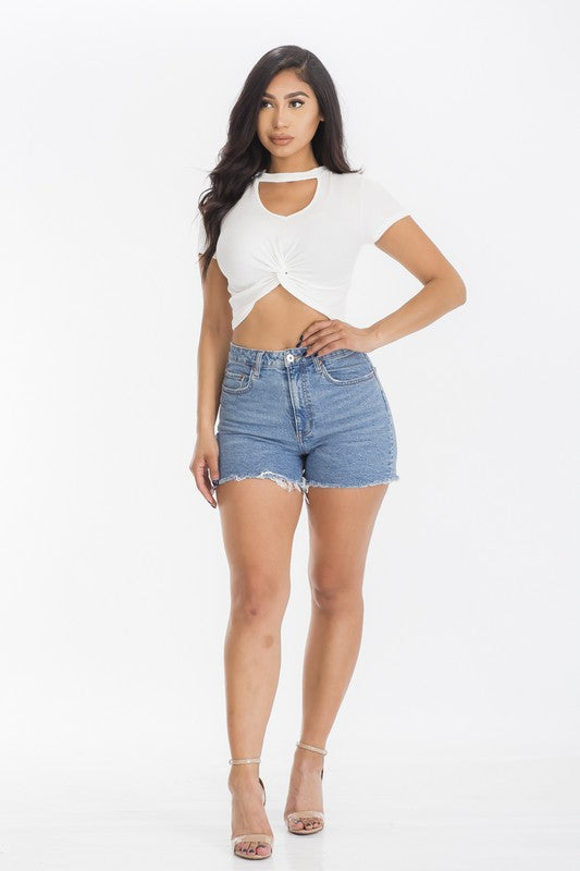 The Cassey Top - White