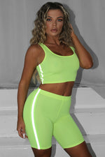 The Neon Reflective Lined Biker Set