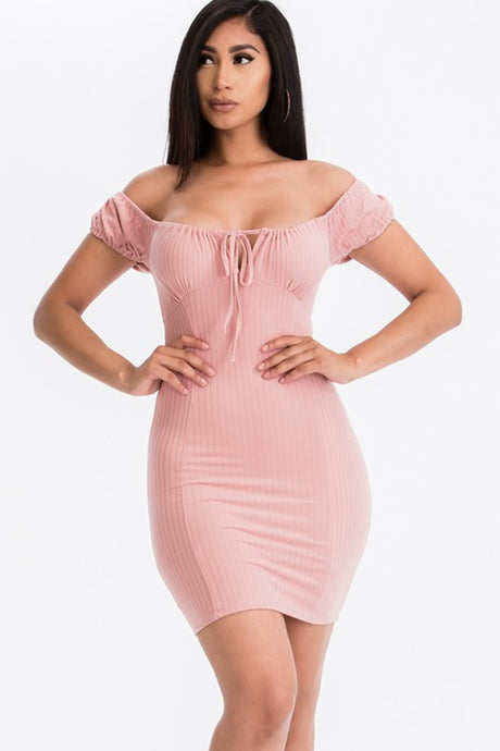 The Jessa Dress - Mauve