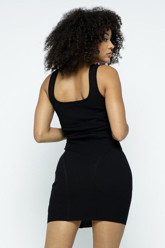 The Contour Dress - Black