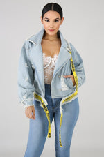 The Stay In Your Lane Denim Jacket