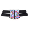 #WAISTGOALS Zip & Cinch Waist Belt - Floral Pattern