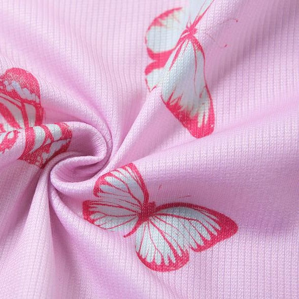 The Butterfly Tie Front Top