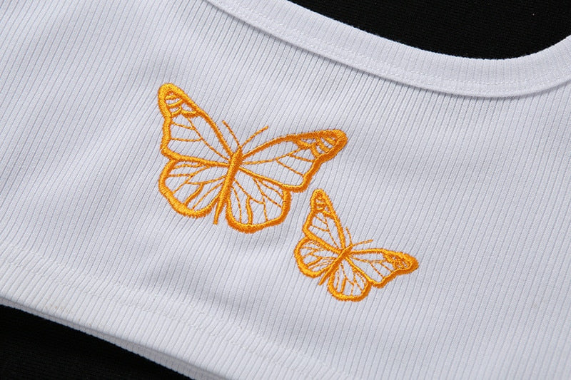 The Butterfly Crop Top