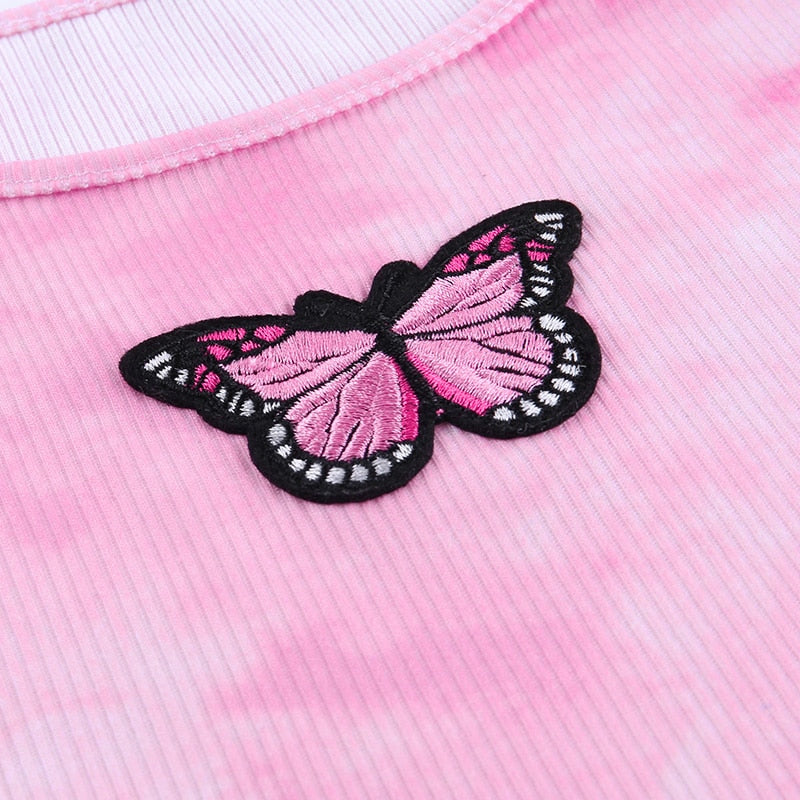 The Ribbed Butterfly Top