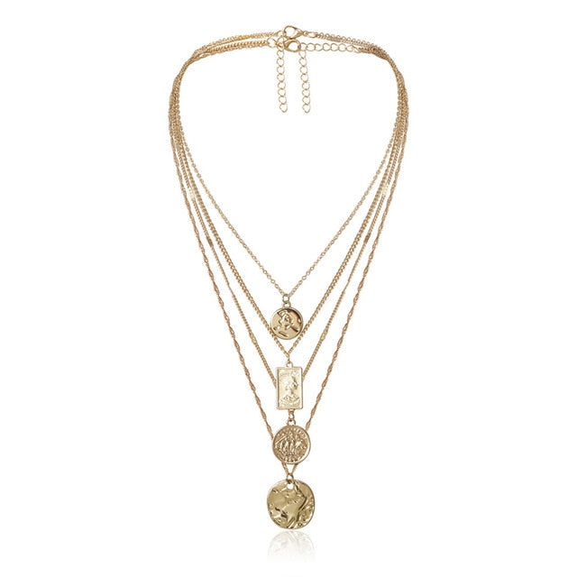 The Layered Pendant Necklace