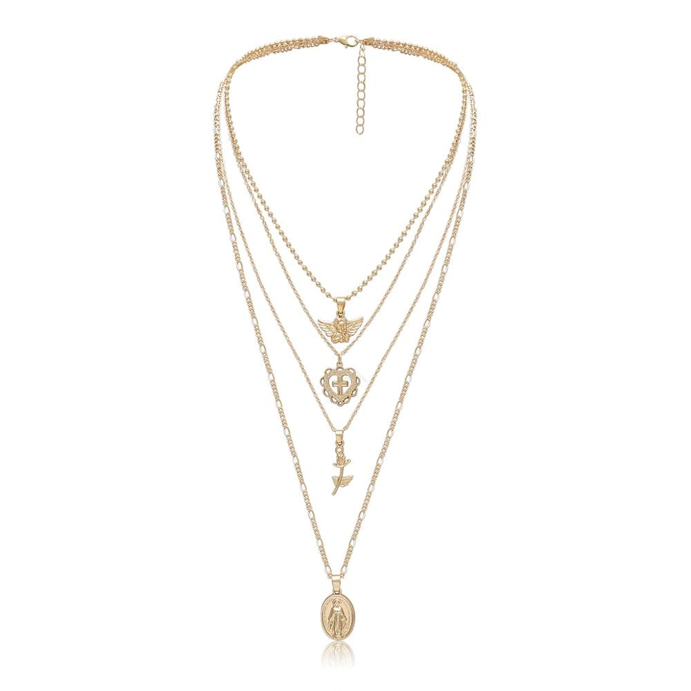 The Aimee Layered Pendant Necklace