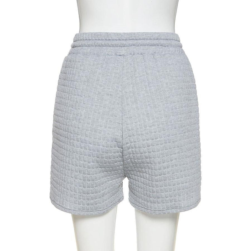 The Quilted High Rise Short