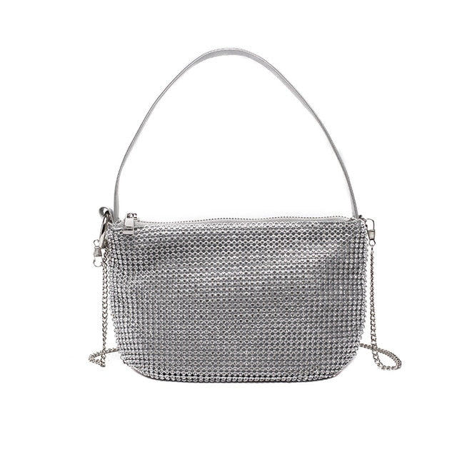 The Studded Baguette Bag