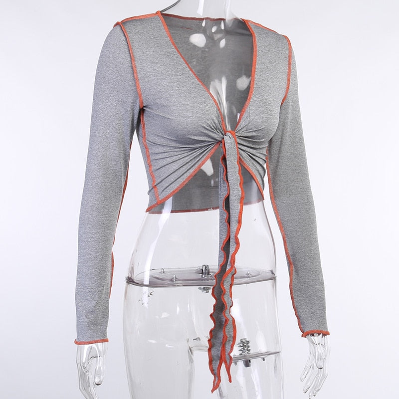 The Jordy Front Tie Top