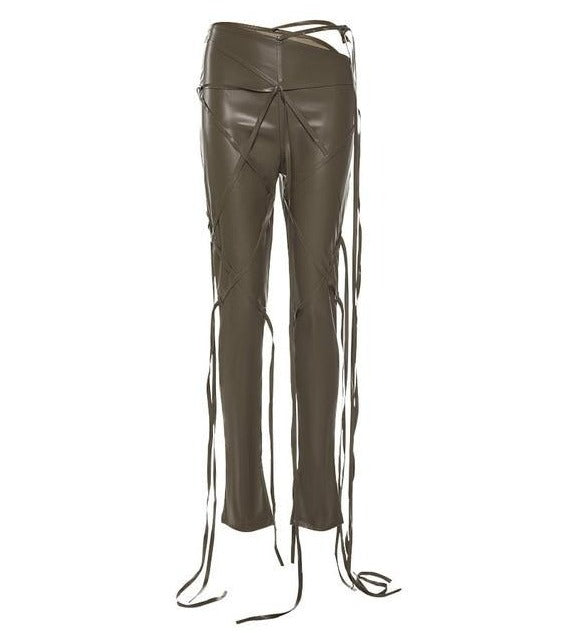 The Vera Faux Leather Pants