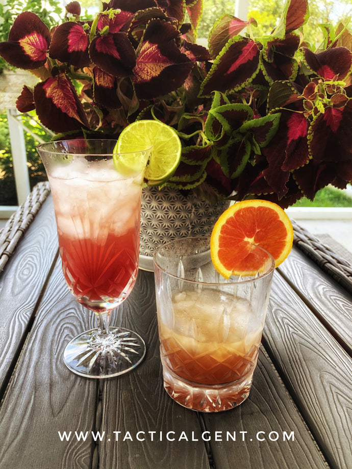 His & Hers Cocktails - Planter's Punch w/ Grenadine