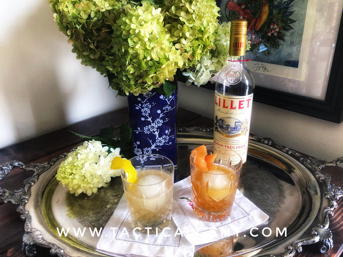 His and Hers Cocktails - Lillet