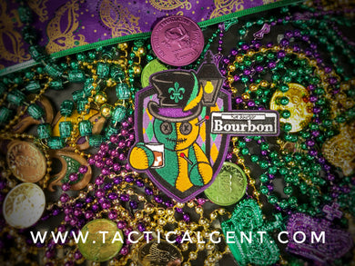 Voodoo King 4 Mardi Gras Patch