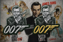 "Sean Connery 007 ""ICON"" Patch"