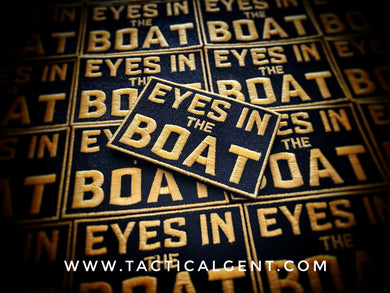 EYES IN THE BOAT Patch