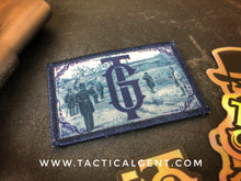 """Dueling Fields"" Patch & Decal Set."