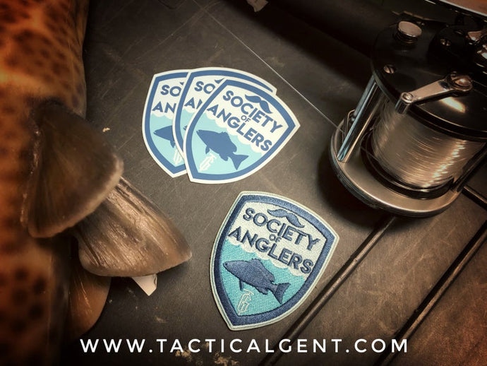 Society of Anglers Morale Patch & Decal Set