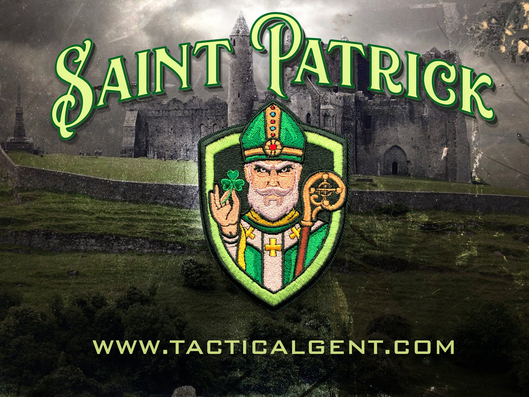 Saint Patrick Morale Patch