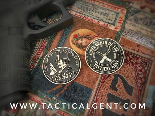 Noble Order of the Tactical Gent Challenge Coin