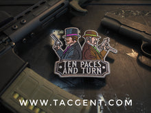 """10 Paces"" Dueling Gent Patch"