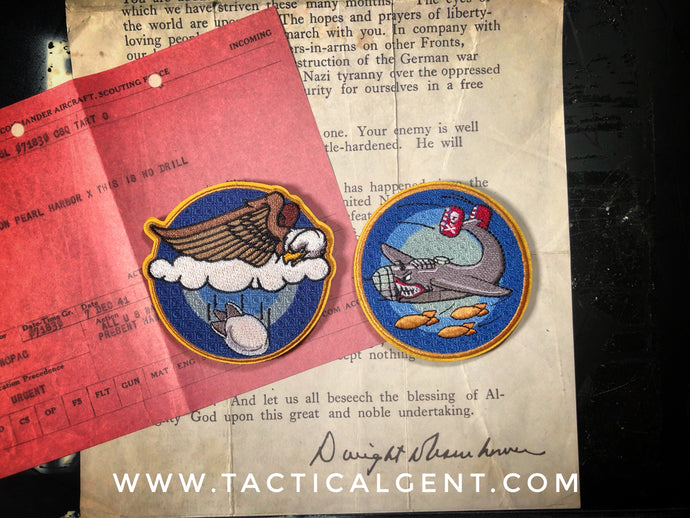 WW2 Mystery Patch #7 & #8