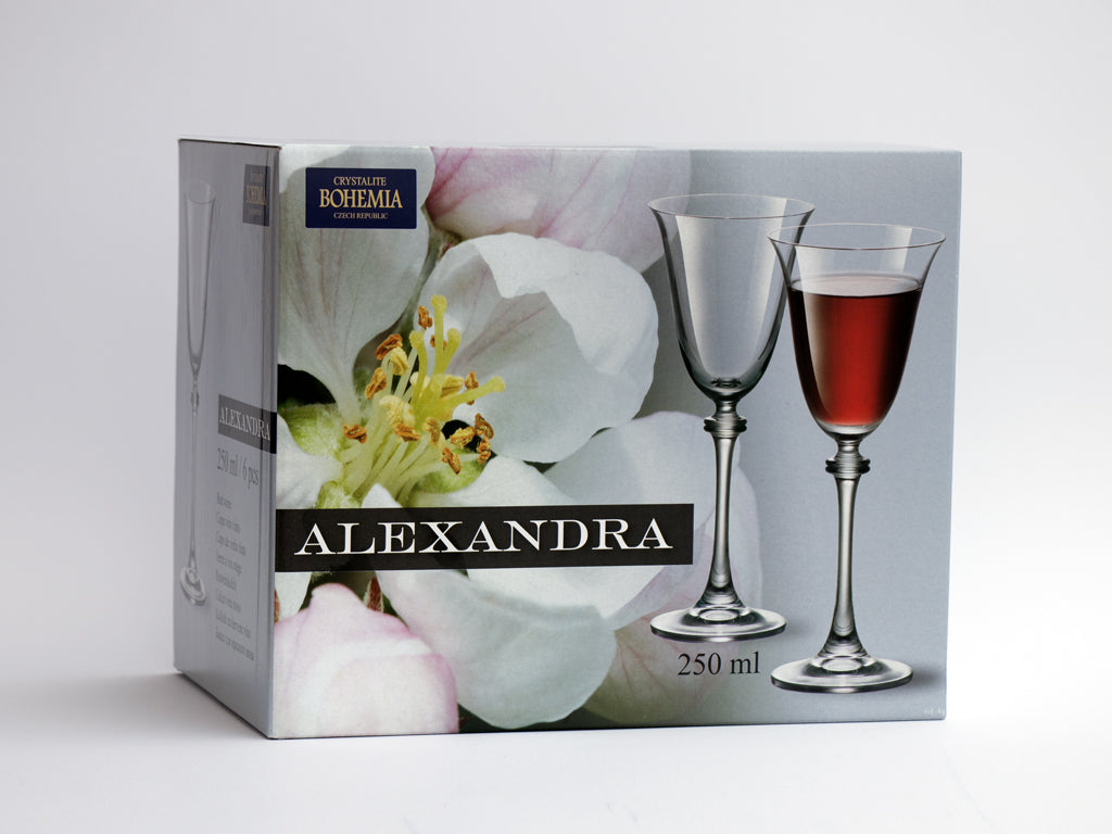 Alexandra wine glass box
