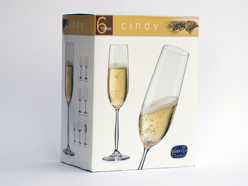 Cindy champagne flute box