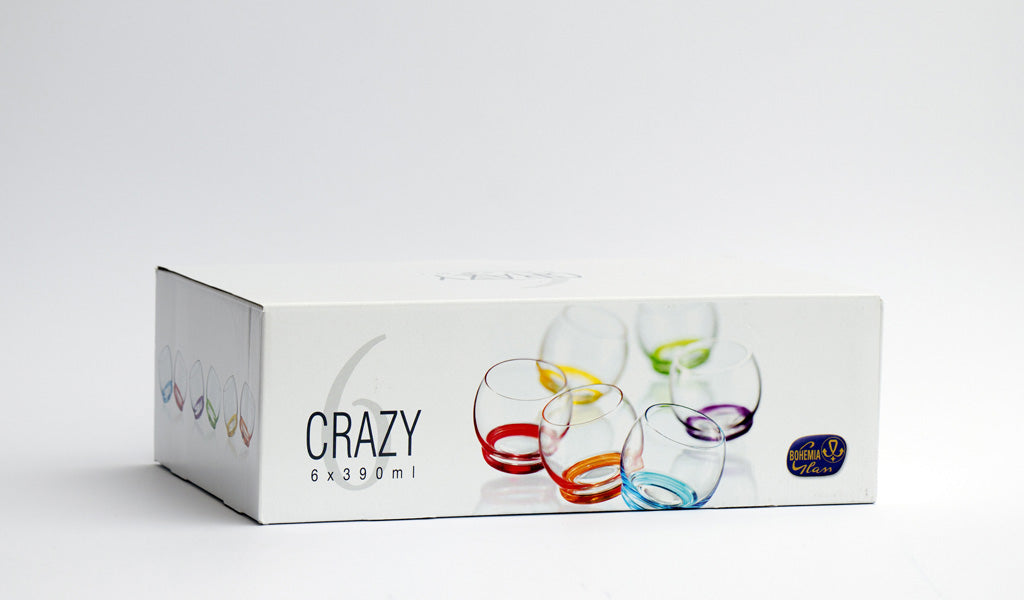 Crazy rainbow set box