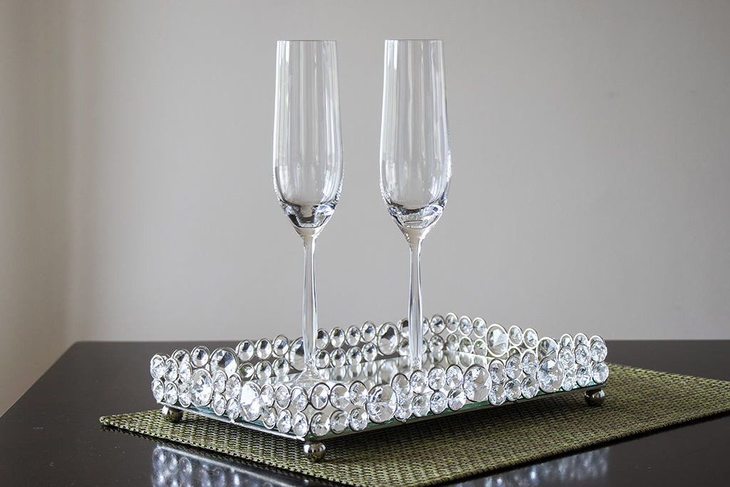 Cindy champagne flute glasses
