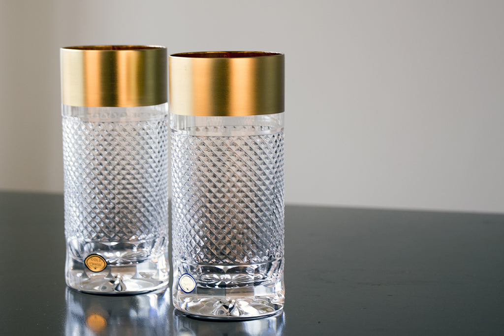 Gold decor universal tumbler