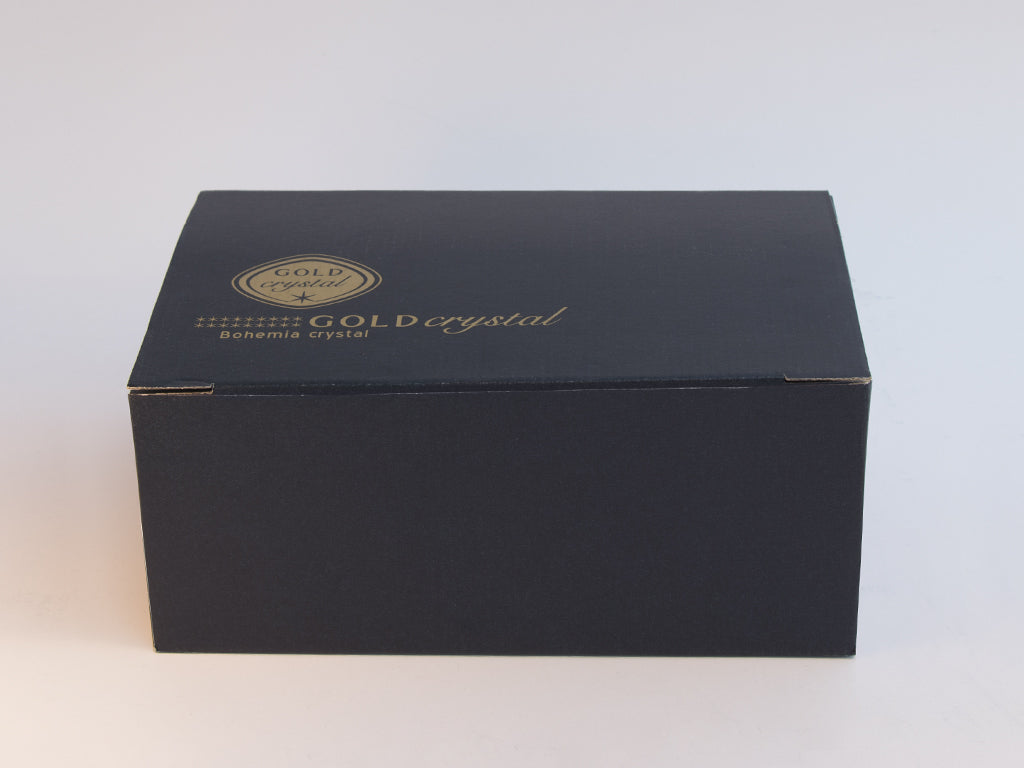 Gold Decor Whisky Tumblers box