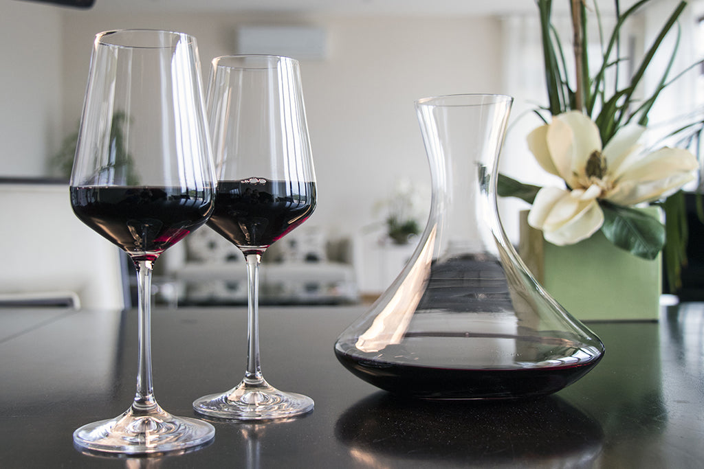 Sandra red wine glassware