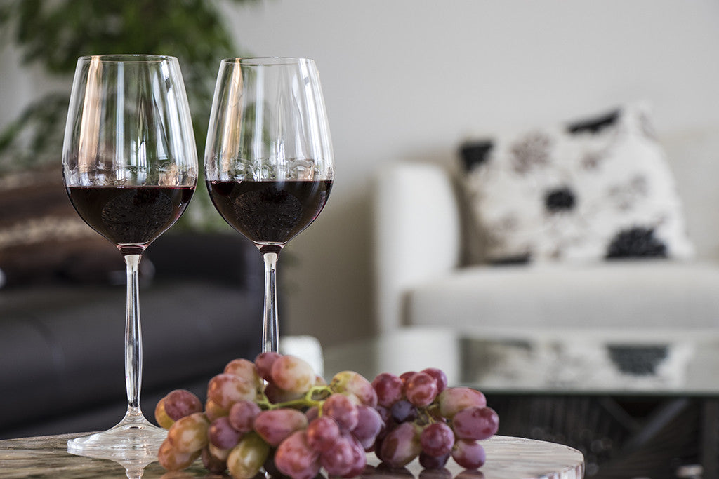 Red wine glasses online