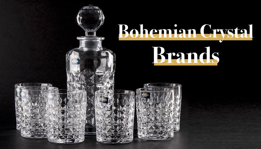 Bohemian Crystal Glassware Brands