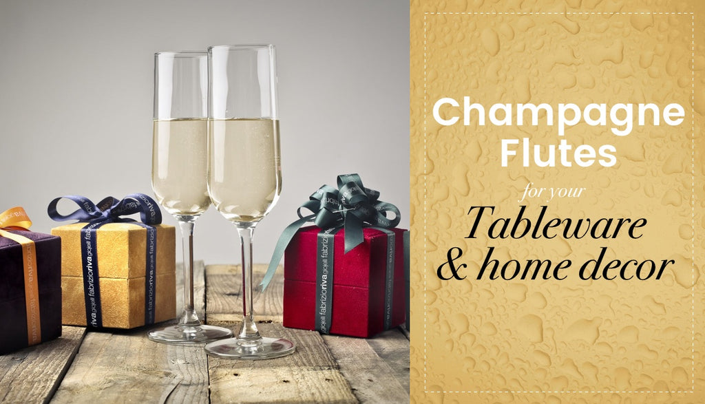 Champagne Flutes for your home decor