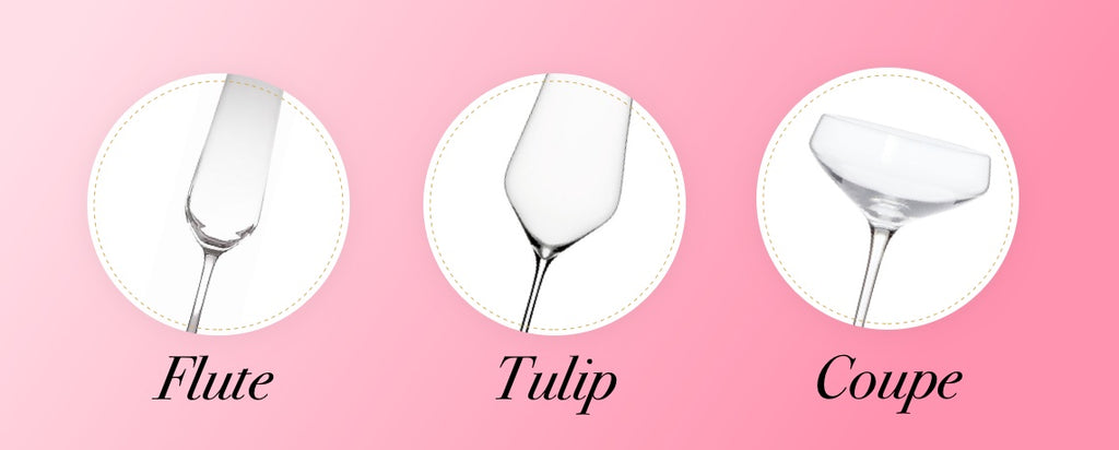 Choosing Best Prosecco Glasses infographic