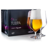 Tulipa Beer Glasses Set of 6 (18.3 oz)