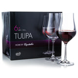 Tulipa Red Wine Glasses Set of 6 (15.2 oz)