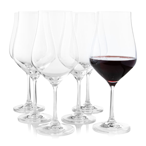 Tulipa Wine Glasses Set of 6 (18.6 oz)