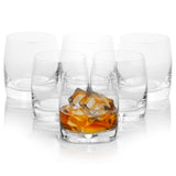 Ideal Double Old Fashion whiskey glasses set of 6 (9.8 oz)