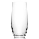 Club Water Tumblers Set of 6 Glass (11.8 oz)