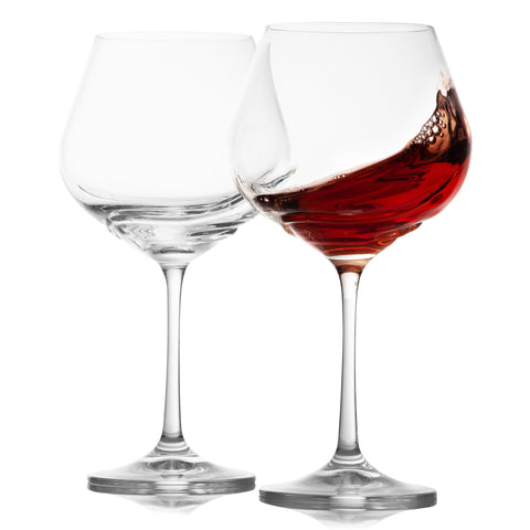 Turbulence red wine glasses set of 2 (19.2 oz)