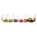 Islands Colored Tumblers Set of 6 (10.4 oz)