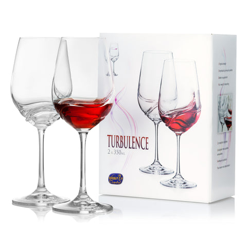 Turbulence Red Wine Glasses Set of 2 (11.8 oz)