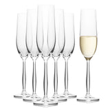 Cindy Champagne Flutes Set of 6 (6.4 oz)