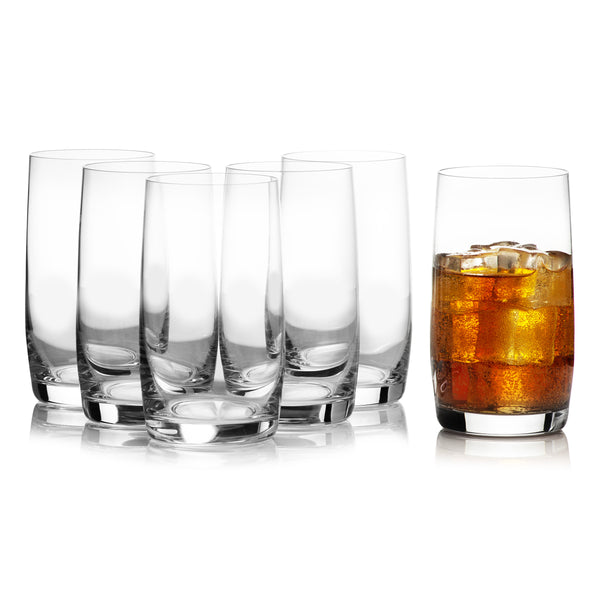Ideal High Ball  Glasses Set of 6 (12.8 oz)
