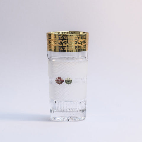 Gold Exclusive Premium Handmade Whiskey Tumblers Set of 2 (11.8 oz)