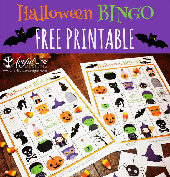 photograph regarding Free Halloween Bingo Printable known as Halloween Bingo Cost-free Printable Suave Existence Models