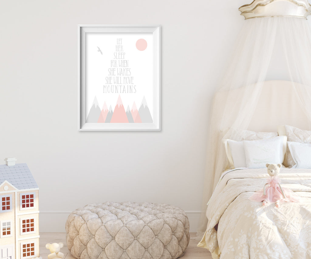 Nursery Collection wall art & decor